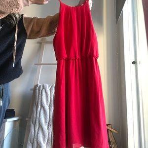 Brand new red mini dress